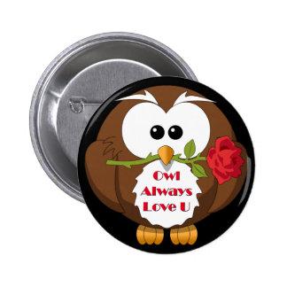 Owl Always Love You Theme Button
