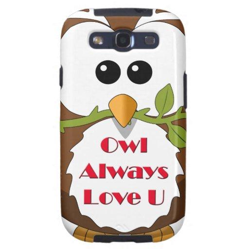 Owl Always Love You Theme Galaxy SIII Case