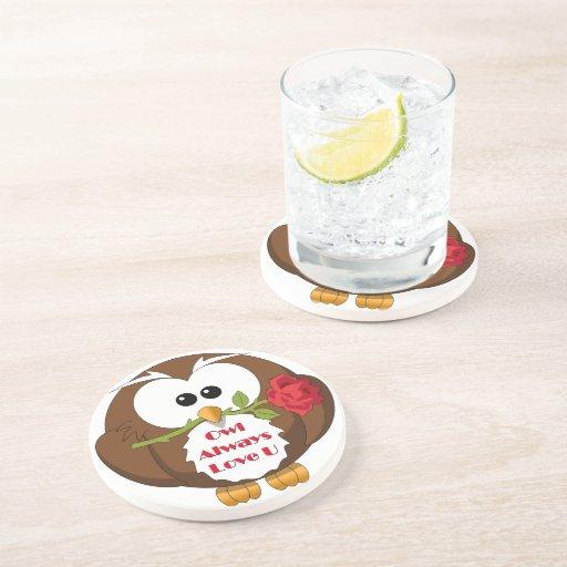 Owl Always Love You Theme Coaster