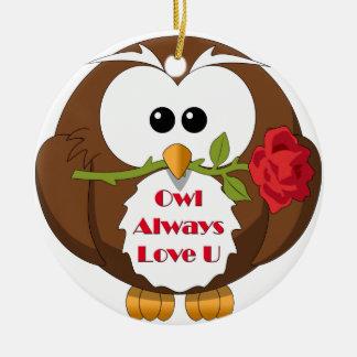 Owl Always Love You Theme Ornaments