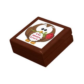 Owl Always Love You Theme Jewelry Box