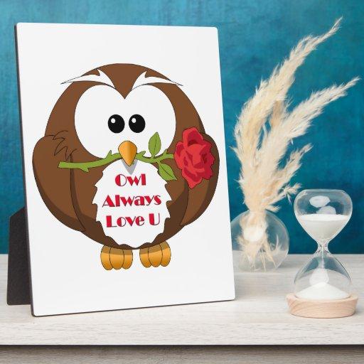 Owl Always Love You Theme Plaque