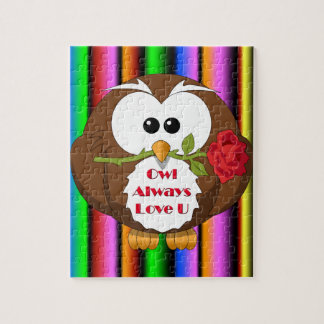 Owl Always Love You Theme Jigsaw Puzzle