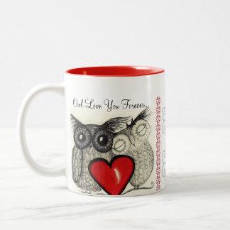 Owl Always Love You Two-Tone Mug