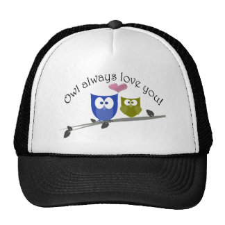 Owl always love you Valentine's Gifts Cap
