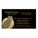 Owl and Full Moon Double-Sided Standard Business Cards (Pack Of 100)