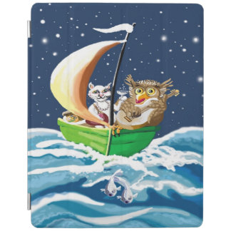Owl and the pussycat went to sea iPad cover