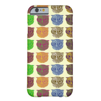 Owl - animal pattern barely there iPhone 6 case