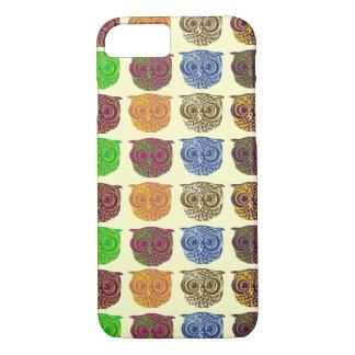 Owl - animal pattern iPhone 7 case