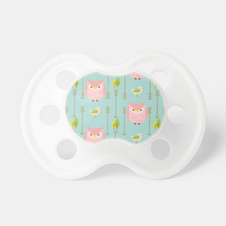 Owl Baby Pattern Pacifier
