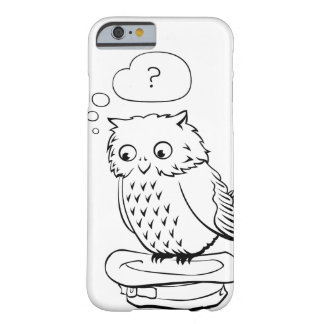 """""""?.."""" owl barely there iPhone 6 case"""
