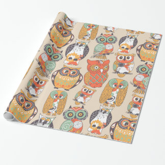 Owl Be Collection Wrapping Paper