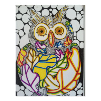 Owl Be Home for the Holidays Postcard