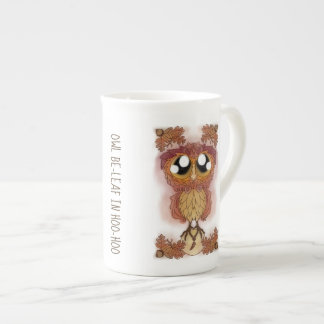 Owl Be-leaf In Hoo-Hoo (October 2017) Tea Cup