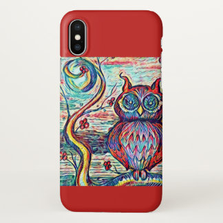 Owl Be There iPhone X Case