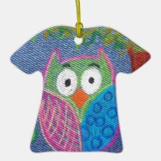 Owl be waiting ceramic T-Shirt decoration