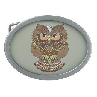 Owl Belt Buckles