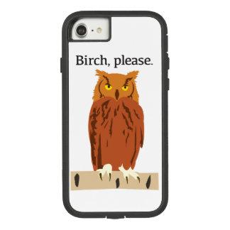 Owl Birch Please Phone Case