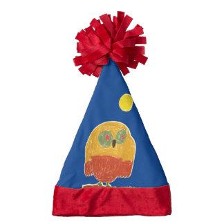 Owl Bird Santa Hat