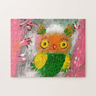 owl bird puzzle