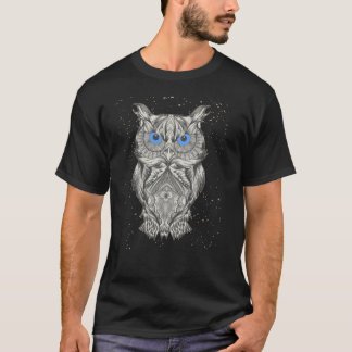 Owl blue eyes T-Shirt