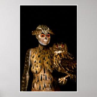 Owl by Johannes Stötter Poster