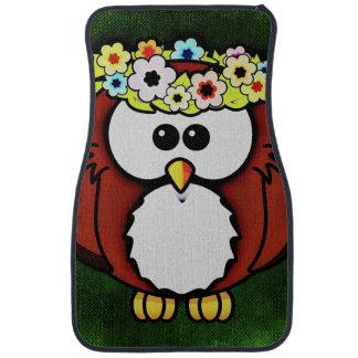 Owl Car Mat