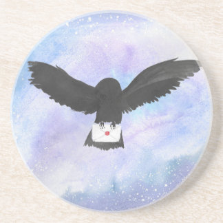 Owl Carrying Mail Coaster