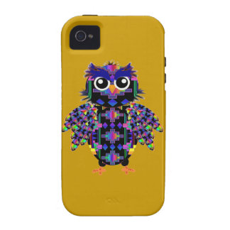 Owl Vibe iPhone 4 Case