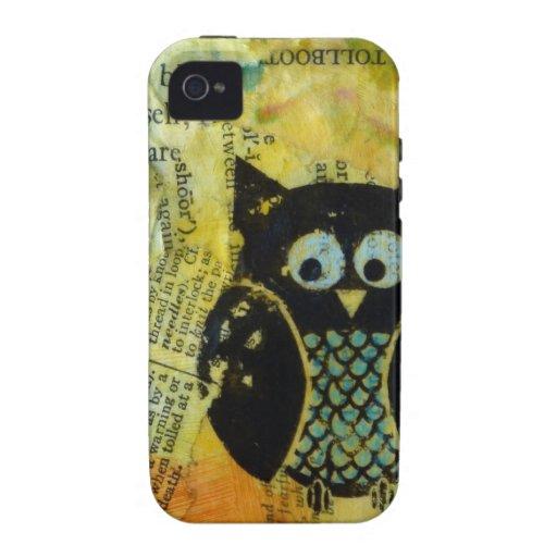 Owl CaseMate iPhone4 Case Case-Mate iPhone 4 Cover