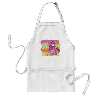 Owl cat *Pop color Standard Apron