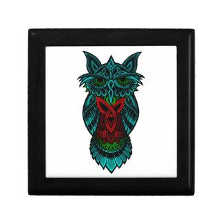 Owl Celtic Art Gift Box
