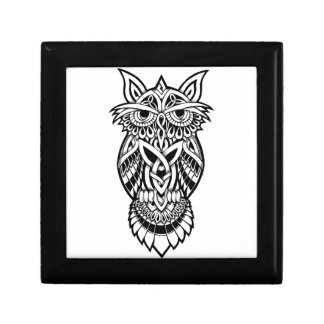 Owl Celtic Knot Gift Box