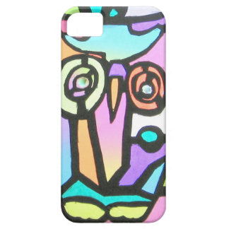 owl children's drawing iPhone 5 cover