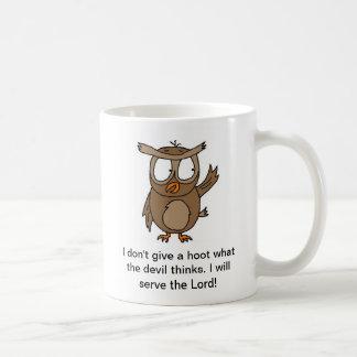 Owl Christian Mug