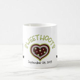Owl Couple Anniversary Mug