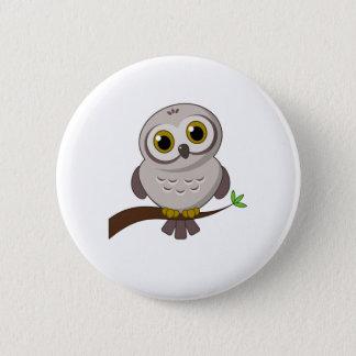 Owl Cutie 6 Cm Round Badge