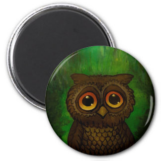 Owl cutie magnet