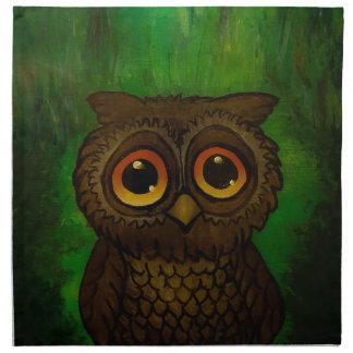 Owl cutie napkin
