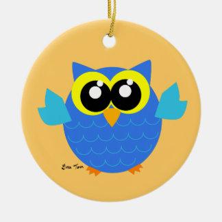 Owl Christmas Tree Ornament
