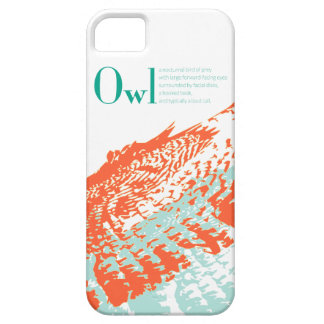 Owl Definition iPhone 5 Case