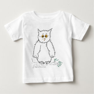 owl, Designed by Plume of Mouse Baby T-Shirt