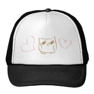 Owl Doodle Hat