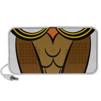 Owl Drawing Cartoon Character Laptop Speaker