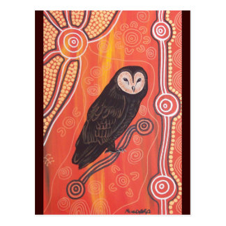 Owl Dreaming Post Card