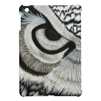 owl eye left side iPad mini cases