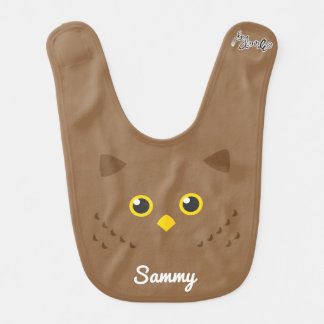 Owl Face Bib