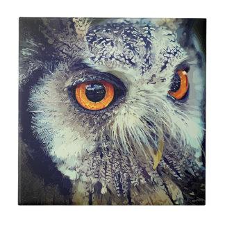 OWLface Ceramic Tile