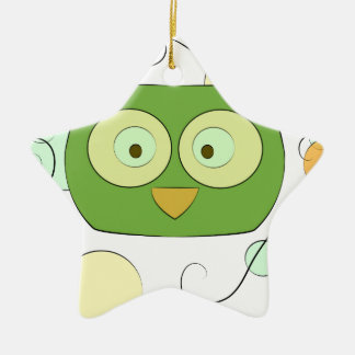 Owl Face for Spring Ornament