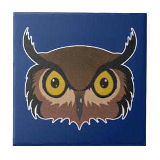Owl Face Tile